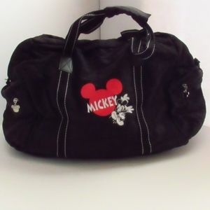 Disney Mickey Mouse Cross-Body Nylon Satchel Bag